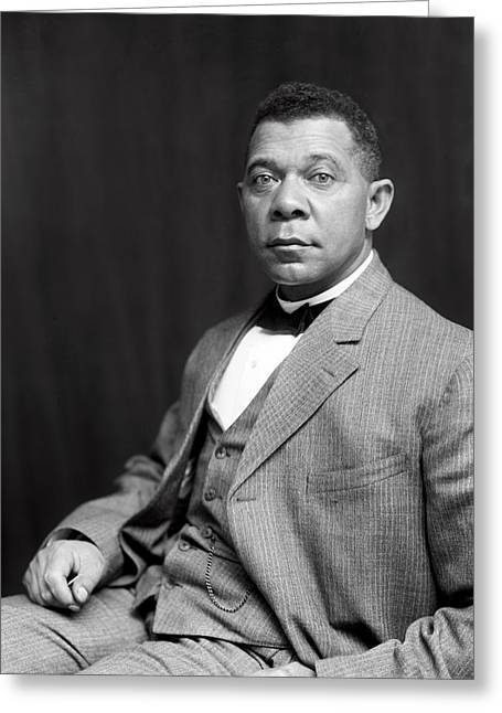 Booker T. Washington  1899 Greeting Card