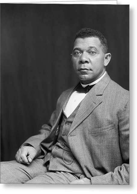 Booker T. Washington Greeting Card