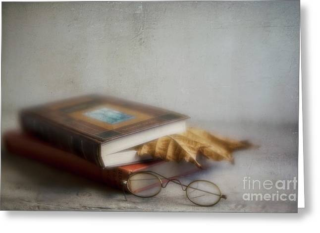 Greeting Card featuring the photograph  Bookmark by Elena Nosyreva