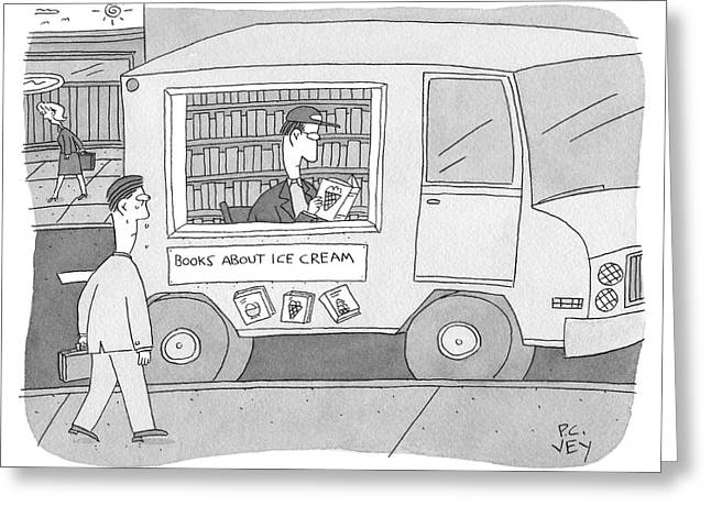 Books About Ice Cream Greeting Card
