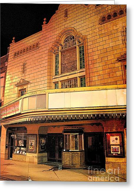 Booth Theater Greeting Card