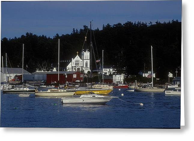 Boothbay Harbor Maine 2 Greeting Card