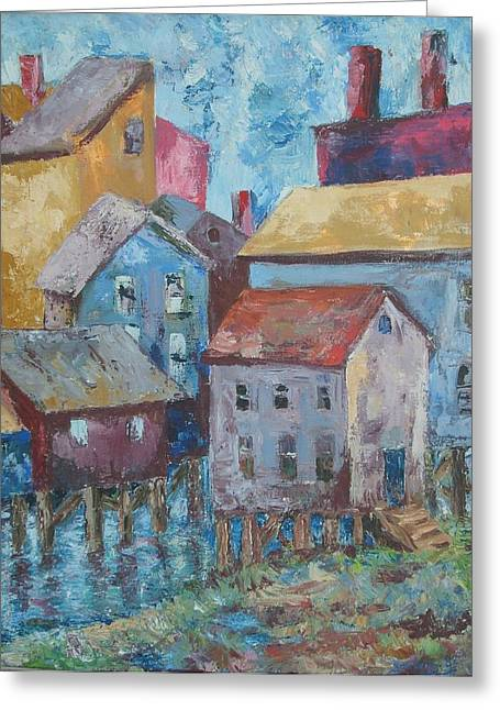 Boothby Harbor Tl Wy Greeting Card by Joseph Sandora Jr