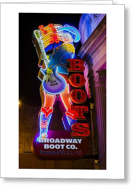 These Boots Are Made For Walking Greeting Card by Stephen Stookey