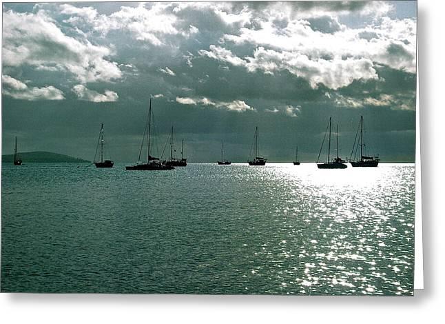 Boqueron Bay Greeting Card