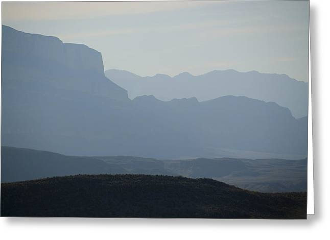 Boquillos Canyon Greeting Card by Kevin Bain
