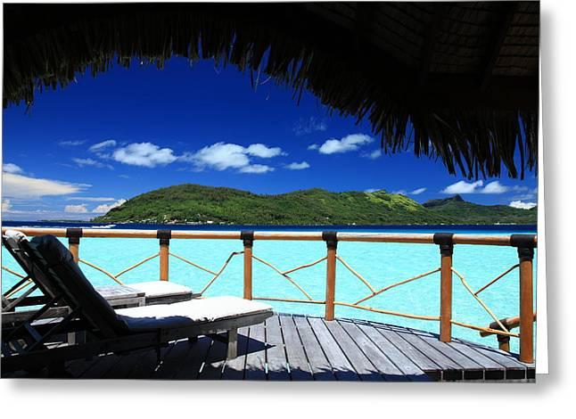 Bora Bora Bliss Greeting Card