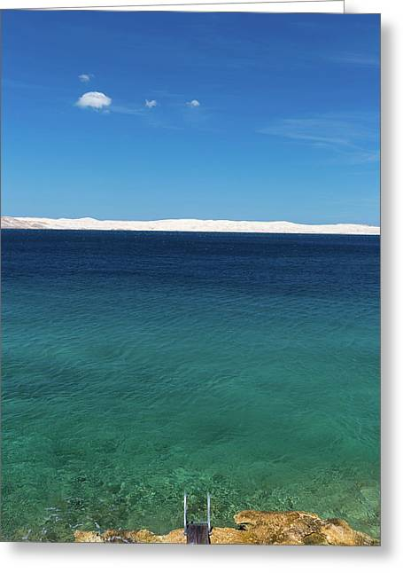 Bora In Velebit Kanal I Greeting Card