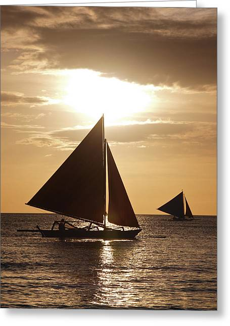 Boracay Philippines A 169 Greeting Card by Per Lidvall