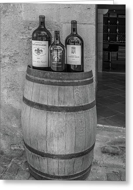 Bordeaux Winery Greeting Card
