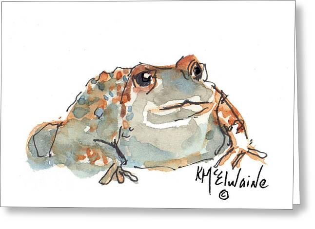 Boreal Chorus Frog Greeting Card