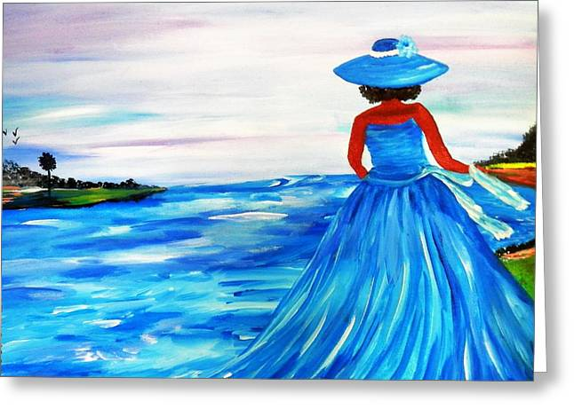Born Of Water Greeting Card