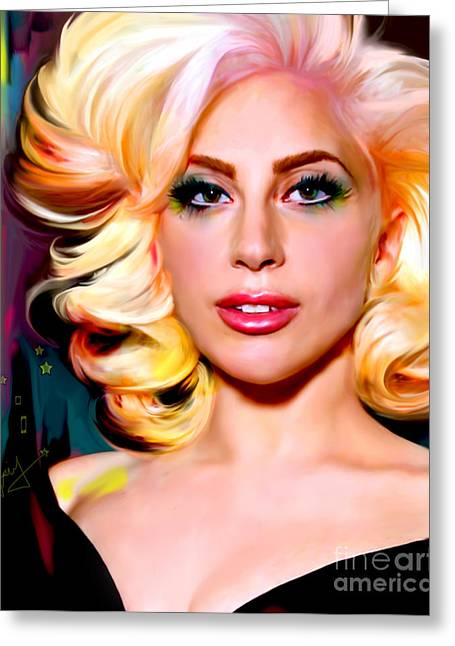 Born This Way, Lady Gaga Greeting Card