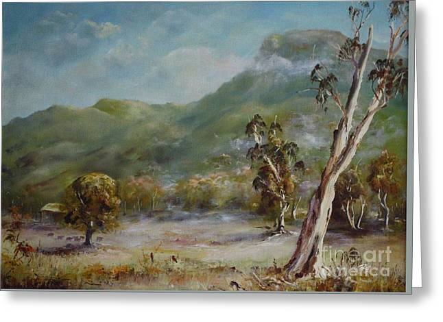 Boronia Peak Greeting Card