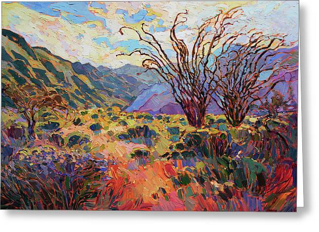 Borrego In Bloom Greeting Card