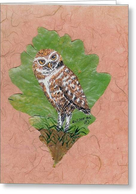 Borrowing Owl Greeting Card