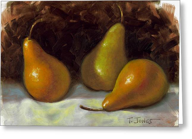 Bosc Pears Greeting Card