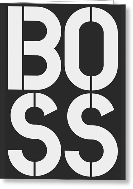 Boss-1 Greeting Card