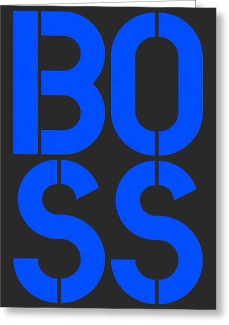 Boss-3 Greeting Card