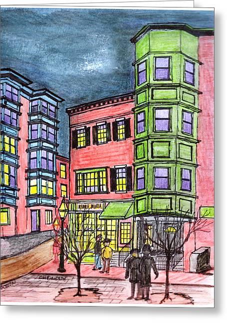 Boston Northend Greeting Card