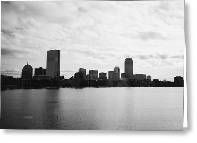 Boston Skyline Greeting Card by Utopia Concepts