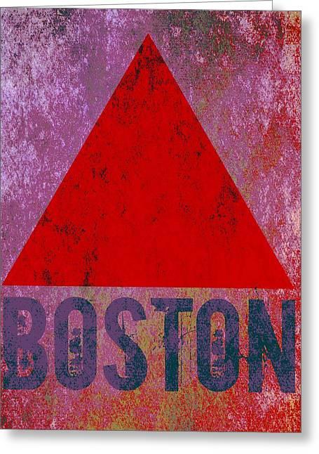 Boston Triangle Greeting Card