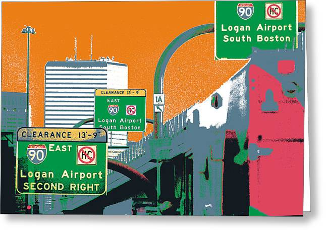 Boston Underpass Greeting Card