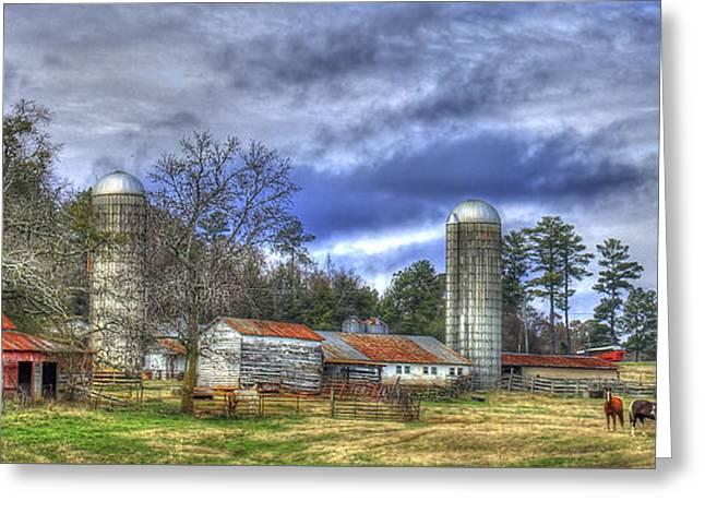 Boswell Farm Greene County Georgia Greeting Card