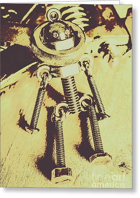 Bot The Builder Greeting Card