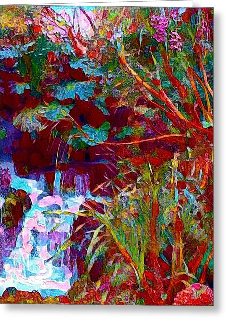 Botanic Gardens Greeting Card by Roger Smith