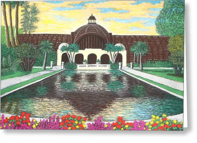 Botanical Building In Balboa Park 01 Greeting Card