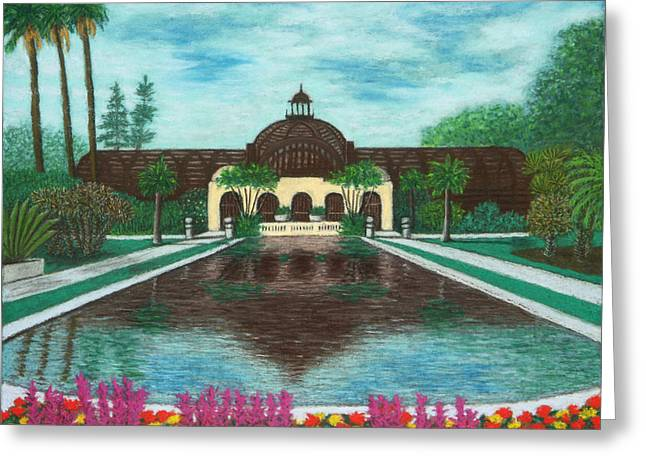 Botanical Building In Balboa Park 02 Greeting Card