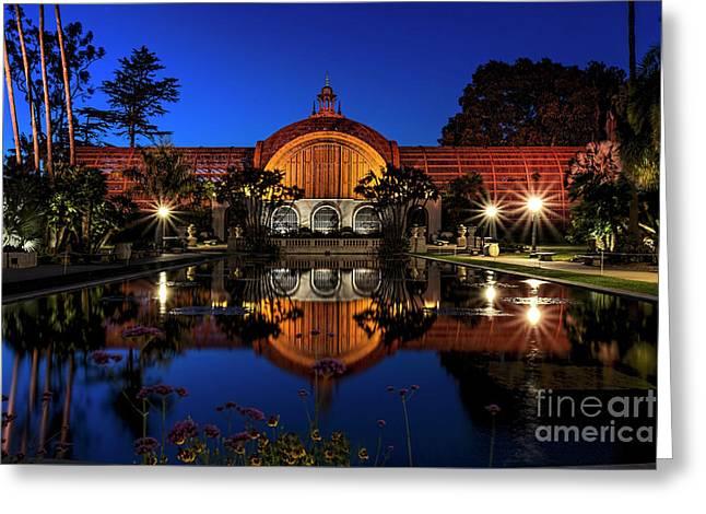 Greeting Card featuring the photograph Botanical Gardens At Balboa by Ken Johnson