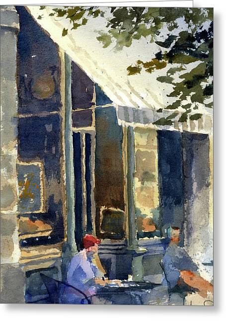Boulangerie Du Monde, Cedarburg Greeting Card