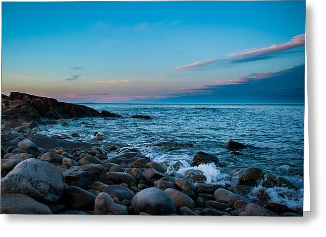Boulder Beach Greeting Card