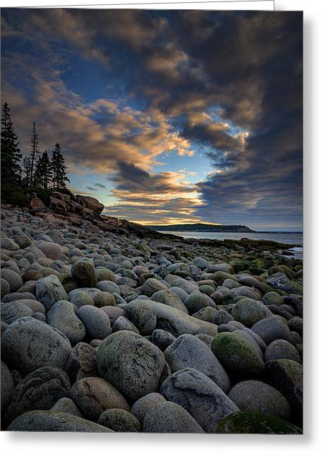 Boulder Beach Sunrise Greeting Card by Rick Berk