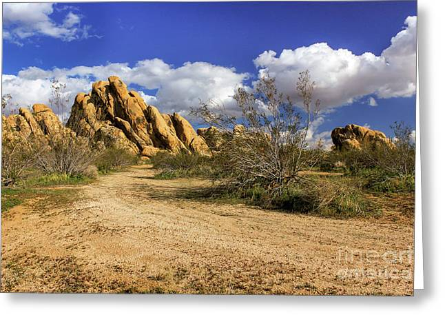 Boulders At Apple Valley Greeting Card