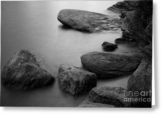 Boulders Greeting Card by Idaho Scenic Images Linda Lantzy