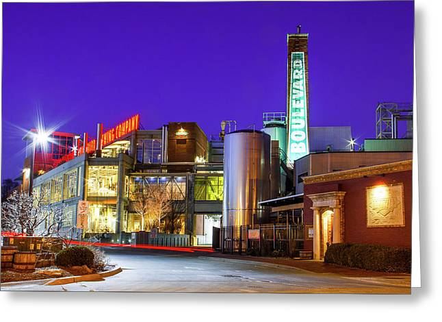 Boulevard Brewing Kansas City Greeting Card
