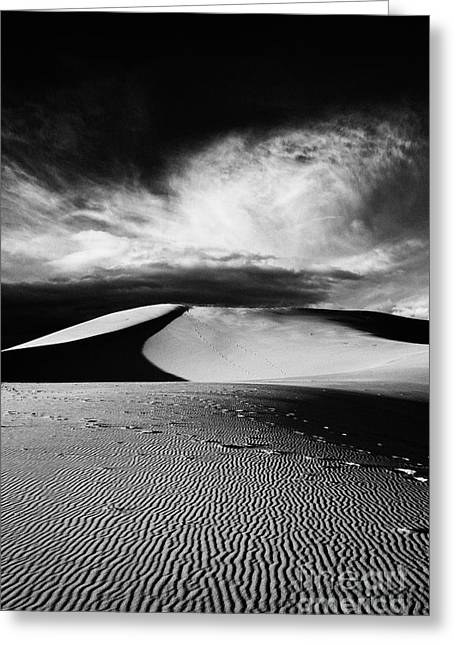 Boundless - Black And White Greeting Card