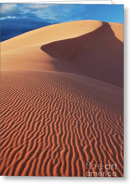 Boundless Dune Ll Greeting Card