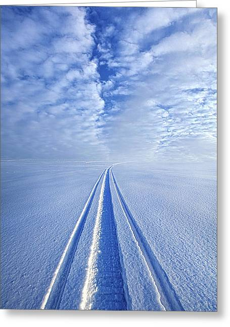 Greeting Card featuring the photograph Boundless Infinitude by Phil Koch