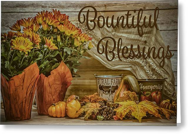 Bountiful Blessings Greeting Card