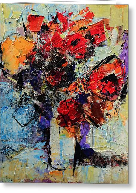 Bouquet De Couleurs Greeting Card by Elise Palmigiani