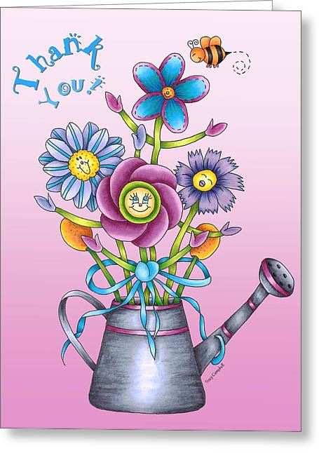 Bouquet Of Praise Rose Card Greeting Card