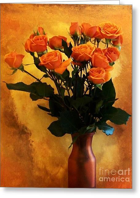 Bouquet Ole Greeting Card by Marsha Heiken