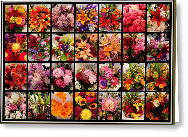 Bouquets Greeting Card