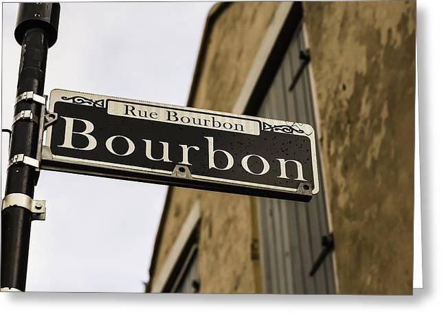 Bourbon Street, New Orleans, Louisiana Greeting Card