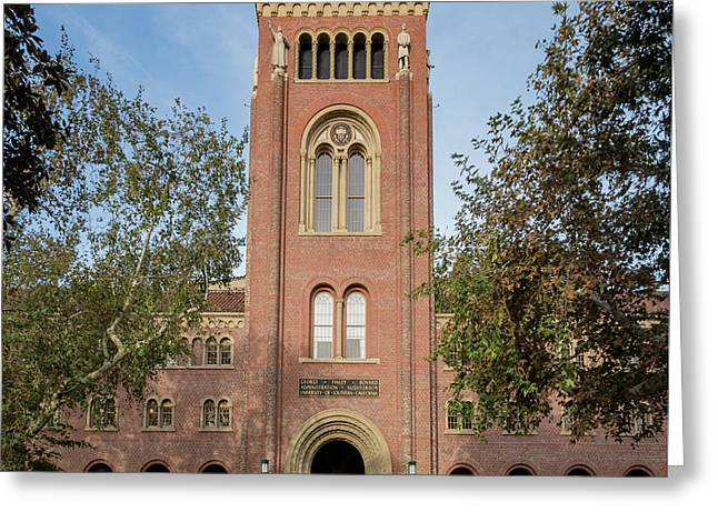 Bovard Aministration Of The University Of Southern California Greeting Card