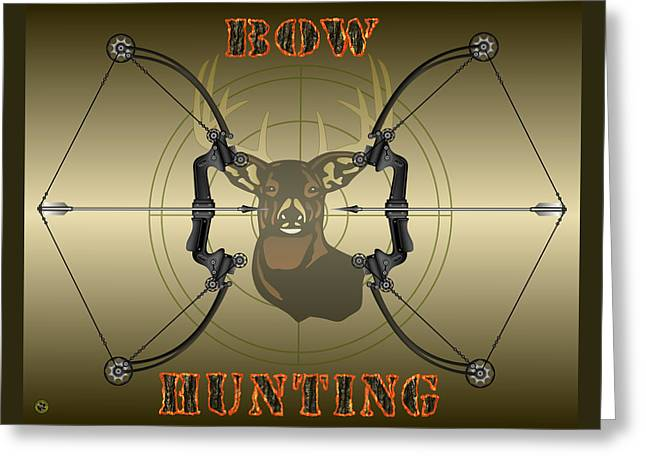 Bow Hunting Greeting Card